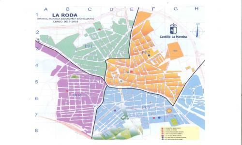 Zonificación en La Roda.